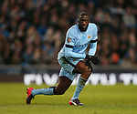 Yaya Toure of Manchester City - Barclays Premier League - Manchester City vs Newcastle Utd - Etihad Stadium - Manchester - England - 21st February 2015 - Picture Simon Bellis/Sportimage