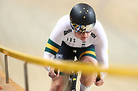Picture by SWpix.com - 01/03/2018 - Cycling - 2018 UCI Track Cycling World Championships, Day 2 - Omnisport, Apeldoorn, Netherlands - Stephanie Morton of Australia Women's 500m Sprint Qualifying