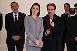 Queen Letizia of Spain during the delivery of the XXVII Edition of Tomas Francisco Prieto Award to Japanese artist Mitsuo Miura in Madrid, Spain. January 20, 2017. (ALTERPHOTOS/BorjaB.Hojas)