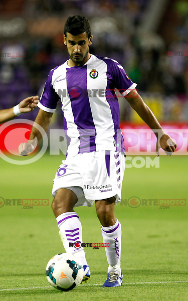 Real Valladolid´s Sastre during La Liga match.August 31,2013. (ALTERPHOTOS/Victor Blanco)