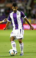 Real Valladolid´s Sastre during La Liga match.August 31,2013. (ALTERPHOTOS/Victor Blanco)