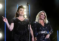 08 June 2019 - Nashville, Tennessee - Miranda Lambert, Angaleena Presley, Pistol Annies. 2019 CMA Music Fest Nightly Concert held at Nissan Stadium. Photo Credit: Dara-Michelle Farr/AdMedia