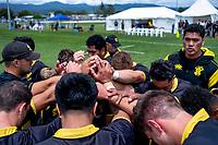 Wellington v Hawkes Bay men. 2018 Central Regional Sevens at Playford Park in Levin, New Zealand on Saturday, 1 December 2018. Photo: Dave Lintott / lintottphoto.co.nz