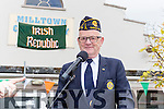 Liam Kane American Legion  who was MC at the Milltown 1916 commemorations parade on Sunday