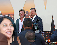 """LOS ANGELES - JUL 22:  Brad Pitt, Leonardo DiCaprio at the """"Once Upon a Time in Hollywood"""" Premiere at the TCL Chinese Theater IMAX on July 22, 2019 in Los Angeles, CA"""