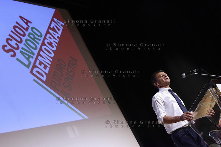 Scuola, lavoro, democrazia.<br /> Assemblea al Teatro Palladium di Garbatella promossa da Stefano Fassina.