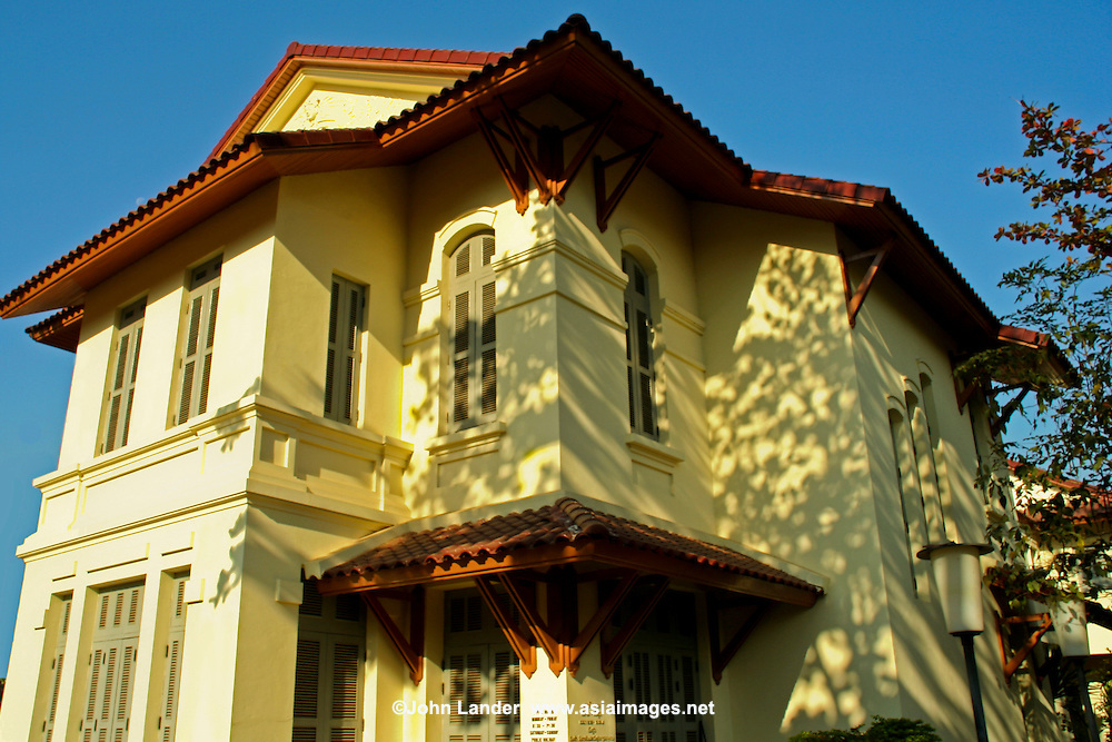 French Colonial Architecture Vientiane John Lander Photography