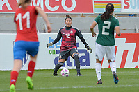 20190306 - LARNACA , CYPRUS : Mexican goalkeeper Alejandria Godinez pictured during a women's soccer game between Czech Republic and Mexico , on Wednesday 6 March 2019  at the Antonis Papadopoulos Stadium in Larnaca , Cyprus . . This last game for both teams which decides for places 5 and 6 of the Cyprus Womens Cup 2019 , a prestigious women soccer tournament as a preparation on the Uefa Women's Euro 2021 qualification duels. PHOTO SPORTPIX.BE | STIJN AUDOOREN