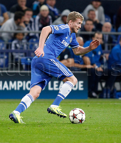 22.10.2013. Gelsenkirchen, Germany. Gelsenkirchen, Veltins-Arena, Chelsea's  Andre Schurrle during the match between FC Schalke 04 vs. Chelsea London in the champions league season 2013/2014.