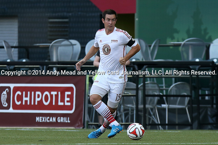 04 August 2014: MLS Homegrown's Steven Evans. The Chipotle MLS Homegrown Game was played as part of the Major League All-Star Game week events. The MLS Homegrown players played the Portland Timbers U-23 team at Providence Park in Portland, Oregon.