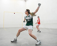 20th September 2014; Martina McMahon of Limerick in action in the M Donnelly All-Ireland Ladies 60x30 Handball Singes Final<br /> against Catriona Casey of Cork at Abbeylara, Co Longford.<br /> Picture credit: Tommy Grealy/actionshots.ie