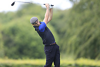 Devin Morley (Oughterard) during the first round at the Mullingar Scratch Trophy, the last event in the Bridgestone order of merit Mullingar Golf Club, Mullingar, West Meath, Ireland. 10/08/2019.<br /> Picture Fran Caffrey / Golffile.ie<br /> <br /> All photo usage must carry mandatory copyright credit (© Golffile | Fran Caffrey)