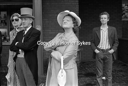 Parents at the Eton Harrow annual cricket match at Lords. St Johns Wood, north London. England. 1975<br />