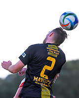 Action from the Chatham Cup second round Northern Football football match between Glenfield Rovers and Birkenhead United at McFetridge Park in Glenfield, Auckland, New Zealand on Monday, 5 June 2017. Photo: Dave Lintott / lintottphoto.co.nz