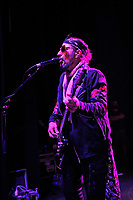 LONDON, ENGLAND - JULY 4: Fabrizio Grossi of 'Supersonic Blues Machine' performing at Shepherd's Bush Empire on July 4, 2018 in London, England.<br /> CAP/MAR<br /> &copy;MAR/Capital Pictures