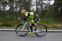 Starting Number 57 - Arnaud Epp  Norseman 2012 - Photo by Justin Mckie Justinmckie@hotmail.com