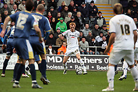 Pictured: Shaun MacDonaldof Swansea City in action<br /> Re: Coca Cola Championship, Swansea City FC v Cardiff City at the Liberty Stadium. Swansea, south Wales, Sunday 30 November 2008.<br /> Picture by D Legakis Photography / Athena Picture Agency, Swansea 07815441513