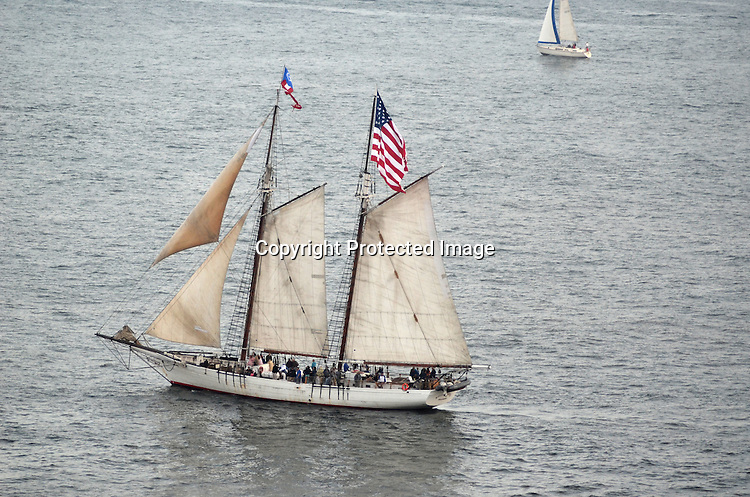 Editorial Photo of The Bill of Rights Tall Ship