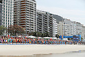 General View, <br /> AUGUST 20, 2016 - Triathlon : <br /> Women's Final <br /> at Fort Copacabana <br /> during the Rio 2016 Olympic Games in Rio de Janeiro, Brazil. <br /> (Photo by Koji Aoki/AFLO SPORT)