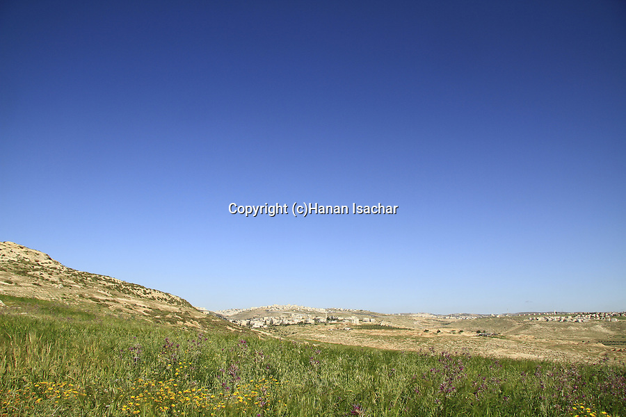 A view towards site of biblical Ramah
