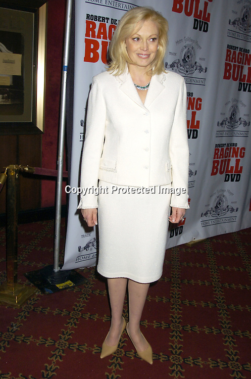 "Cathy Moriarity ..at The Special 25th  Anniversary Premiere in New York City of ""Raging Bull"" and the release of the Collectors Edition  DVD at The Ziegfeld Theatre on January 27, 2005...Photo by Robin Platzer, Twin Images"