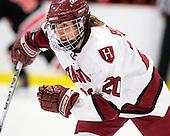 Kate Buesser (Harvard - 20) - The Harvard University Crimson defeated the Northeastern University Huskies 1-0 to win the 2010 Beanpot on Tuesday, February 9, 2010, at the Bright Hockey Center in Cambridge, Massachusetts.