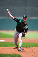 Dayton Dragons starting pitcher Tanner Rainey (17) during a game against the Cedar Rapids Kernels on July 24, 2016 at Perfect Game Field in Cedar Rapids, Iowa.  Cedar Rapids defeated Dayton 10-6.  (Mike Janes/Four Seam Images)