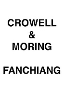 Crowell & Moring Fanchiang