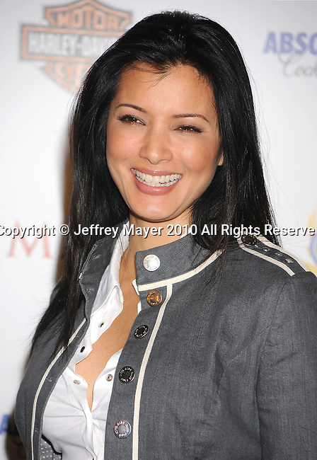 LOS ANGELES, CA. - May 19: Kelly Hu arrives at the 11th Annual MAXIM HOT 100 Party at Paramount Studios on May 19, 2010 in Los Angeles, California.