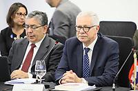 SÃO PAULO, SP, 01.11.2019 - POLITICA-SP - Jorge Basso, Ministro da Saúde do Uruguai, participa da XLV Reunião de Ministros da Saúde dos Estados Partes e Associados do Mercosul, no Instituto Butanta em São Paulo, nesta sexta-feira, 1. (Foto Charles Sholl/Brazil Photo Press)