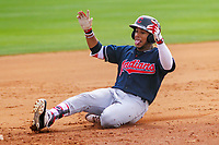 Cleveland Indians outfielder George Valera (32) during a minor league spring training intrasquad game on March 24th, 2018 at the Cleveland Indians Player Development Complex in Goodyear, Arizona.  (Brad Krause/Krause Sports Photography)