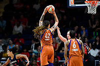Washington, DC - July 30, 2019: Phoenix Mercury center Brittney Griner (42) hits two of her thirty three points in the game between the Phoenix Mercury and the Washington Mystics at the Entertainment & Sports Arena in Washington, DC. The Mystics defeated the Mercury 99-93. (Photo by Phil Peters/Media Images International)