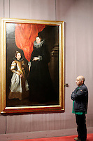 'Geronima Sale-Brignole e sua figlia Aurelia' di Antoon Van Dick nel Museo di Palazzo Rosso, Genova.<br /> Anthony Van Dick's 'Geronima Sale-Brignole and her daughter Aurelia' at Palazzo Rosso's Museum, Genoa.<br /> UPDATE IMAGES PRESS/Riccardo De Luca