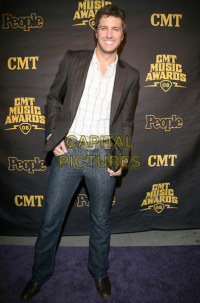 """PHILIP SWEET, KIMBERLY ROADS, KAREN FAIRCHILD & JIMI WESTBROOK - LITTLE BIG TOWN.CMT and """"PEOPLE"""" Official 2008 CMT Music Awards After-Party held at City Hall, Nashville, Tennessee, USA..April 14th, 2008.full length jeans denim black jacket white shirt .CAP/ADM/RR.©Randi Radcliff/AdMedia/Capital Pictures."""