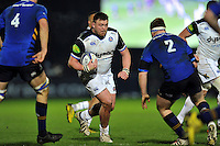 David Wilson of Bath Rugby in possession. European Rugby Champions Cup match, between Leinster Rugby and Bath Rugby on January 16, 2016 at the RDS Arena in Dublin, Republic of Ireland. Photo by: Patrick Khachfe / Onside Images