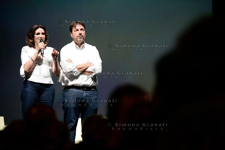 Roma, 18 Giugno 2017<br /> Anna Falcone e Tomaso Montanari<br /> Assemblea al Teatro Brancaccio per costruire un'alleanza popolare per la Democrazia e l'Uguaglianza, una Alternativa a Sinistra del Partito Democratico.