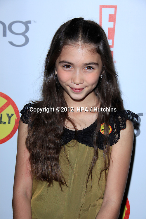 "LOS ANGELES - MAR 26:  Rowan Blanchard arrives at  the ""Bully"" Movie Premiere at the Chinese 6 Theaters on March 26, 2012 in Los Angeles, CA"