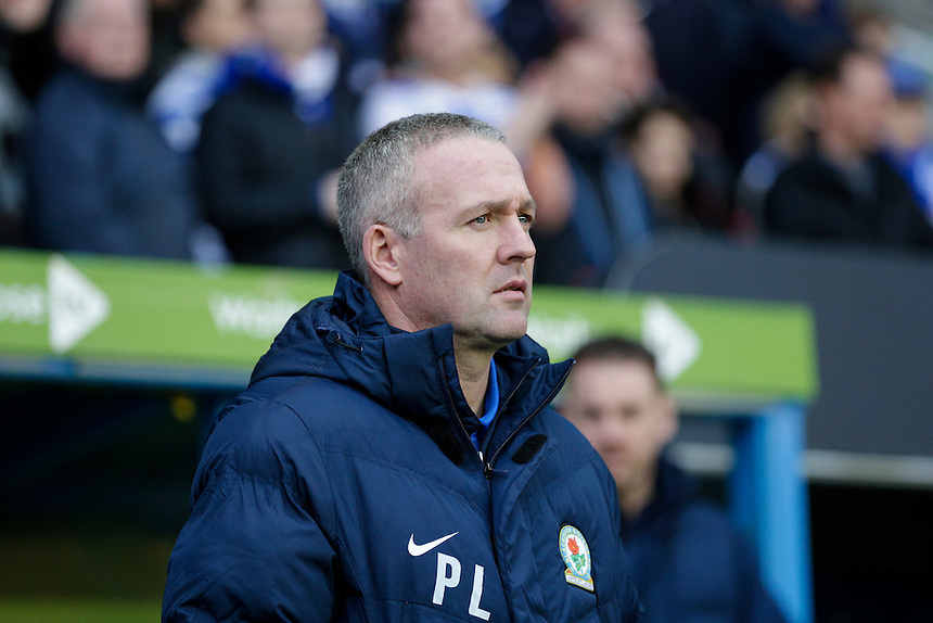 Blackburn Rovers manager Paul Lambert before kick off<br /> <br /> Photographer Craig Mercer/CameraSport<br /> <br /> Football - The Football League Sky Bet Championship - Reading v Blackburn Rovers - Sunday 20th December 2015 - Madejski stadium - Reading<br /> <br /> &copy; CameraSport - 43 Linden Ave. Countesthorpe. Leicester. England. LE8 5PG - Tel: +44 (0) 116 277 4147 - admin@camerasport.com - www.camerasport.com