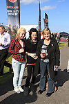 Amy Jane, Lauren and Mary Campbell at the Bellewstown Races 2011...(Photo credit should read Jenny Matthews www.newsfile.ie)....This Picture has been sent you under the conditions enclosed by:.Newsfile Ltd..The Studio,.Millmount Abbey,.Drogheda,.Co Meath..Ireland..Tel: +353(0)41-9871240.Fax: +353(0)41-9871260.GSM: +353(0)86-2500958.email: pictures@newsfile.ie.www.newsfile.ie.