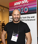 Gio Messale from BroadwayHD debuted their slate of digital captures with Broadway & Beyond Theatricals at The APAP Conference  on January 912, 2020 at The Hilton Hotel Midtown in New York City.
