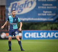 Danny Rowe of Wycombe Wanderers during the pre season friendly match between Aldershot Town and Wycombe Wanderers at the EBB Stadium, Aldershot, England on 22 July 2017. Photo by Andy Rowland.