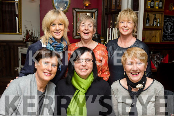 Festive Fashion<br /> ----------------------<br /> Staff from Bamboo fashion boutique, Ardfert, dined early for their Christmas party at the Stone House, Tralee last Monday night, Front L-R Rose Heaslip, Sandra Colley and Sharon Lewis (co owner) back L-R Noreen Murphy, Kathleen Casey and Kay Revington ( co owner ).
