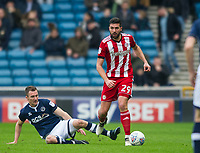 Brentford Yoann Barbet during the Sky Bet Championship match between Millwall and Brentford at The Den, London, England on 10 March 2018. Photo by Andrew Aleksiejczuk / PRiME Media Images.