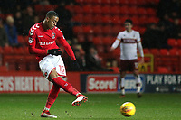 Ezri Konsa of Charlton Athletic in action during Charlton Athletic vs Bradford City, Sky Bet EFL League 1 Football at The Valley on 13th February 2018