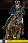 Denis Lynch of Ireland riding Querida competes at the Longines Speed Challenge during the Longines Hong Kong Masters 2015 at the AsiaWorld Expo on 13 February 2015 in Hong Kong, China. Photo by Juan Flor / Power Sport Images