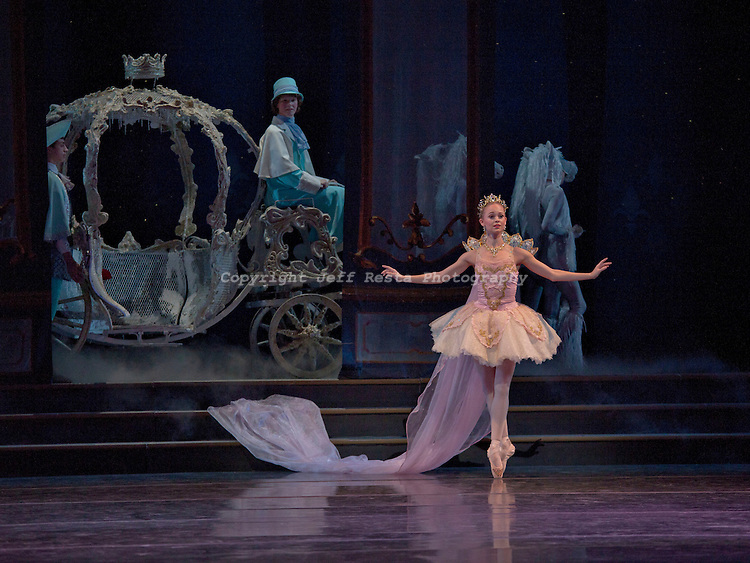 Texas Ballet Theater perform Cinderella at the Winspear Opera House on September 30, 2010 in Dallas, TX.  Ben Stevenson O.B.E.