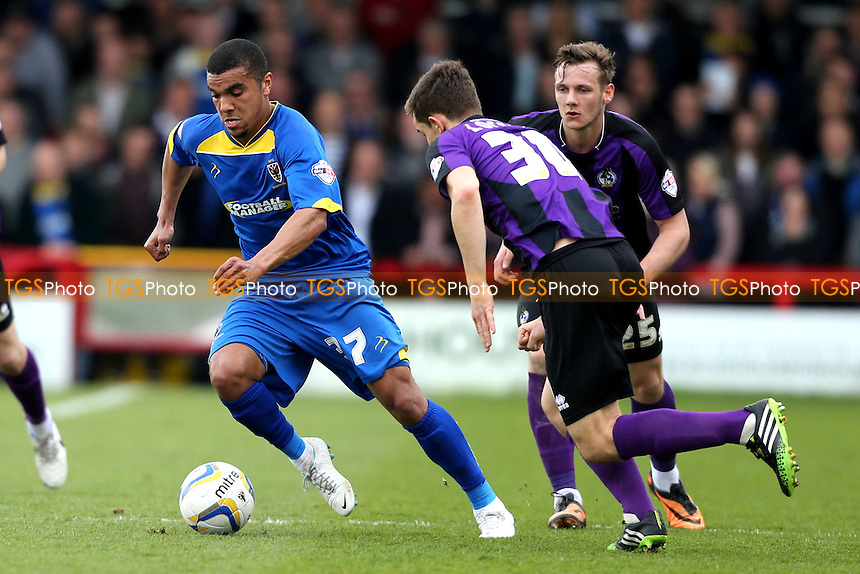 Kwesi Appiah of AFC Wimbledon - AFC Wimbledon vs Bristol Rovers - Sky Bet League Two Football at Kingsmeadow, Norbiton, London - 05/04/14 - MANDATORY CREDIT: Simon Roe/TGSPHOTO - Self billing applies where appropriate - 0845 094 6026 - contact@tgsphoto.co.uk - NO UNPAID USE
