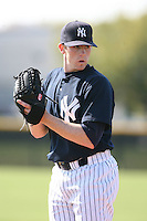 March 17th 2008:  Eric Hacker of the New York Yankees minor league system during Spring Training at Legends Field Complex in Tampa, FL.  Photo by:  Mike Janes/Four Seam Images