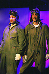 Layon Gray and Thoms Scott II (play brothers Quintin and Abraham) star in Layon Gray's Black Angels Over Tuskegee - The Story of the Tuskegee Airman on February 7, 2010 and continuing. Check it out at www.theblackgents.com (Photo by Sue Coflin/Max Photos)