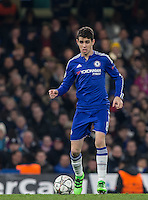 Oscar of Chelsea during the UEFA Champions League Round of 16 2nd leg match between Chelsea and PSG at Stamford Bridge, London, England on 9 March 2016. Photo by Andy Rowland.